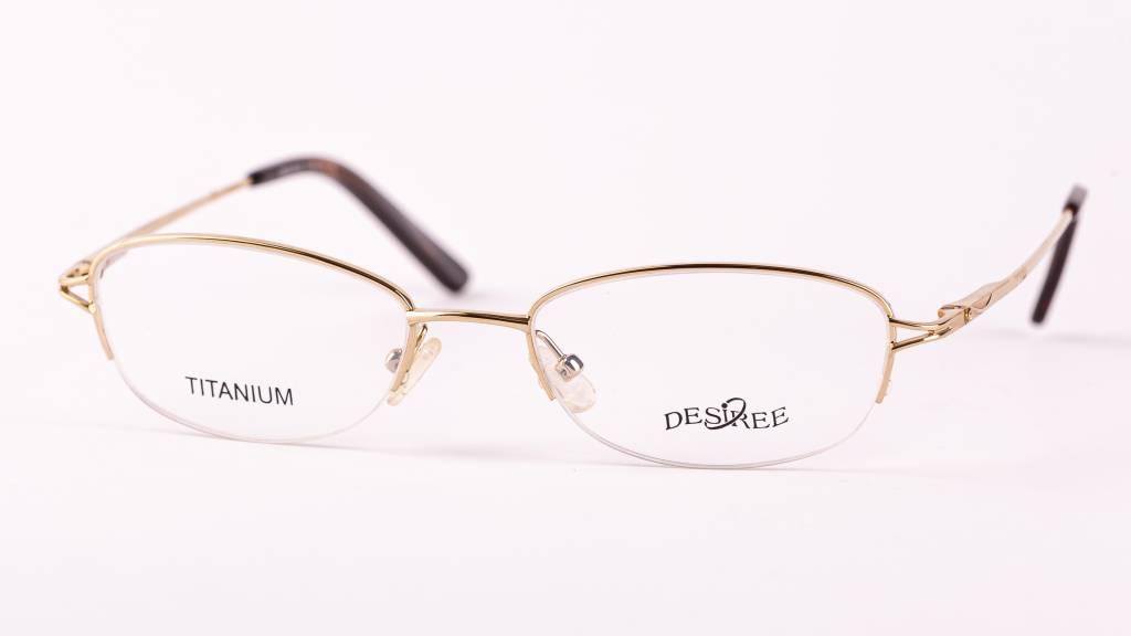 Fotka okuliare DESIREÉ TITAN Gold